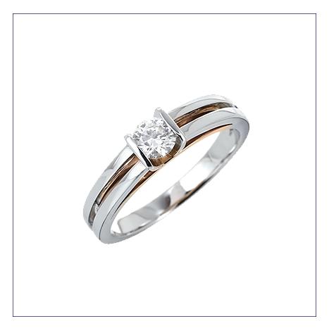 bijou solitaire diamant
